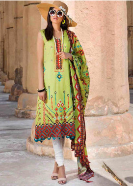 Umang by Motifz Embroidered Lawn Unstitched 3 Piece Suit MT20U 2516 - Summer Collection