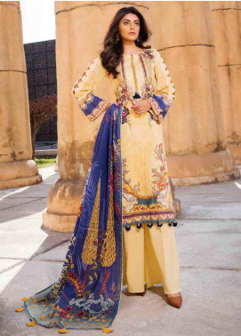 Umang by Motifz Embroidered Lawn Unstitched 3 Piece Suit MT20U 2521 - Summer Collection