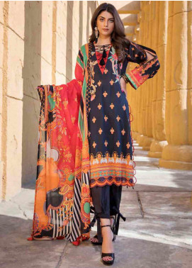 Umang by Motifz Embroidered Lawn Unstitched 3 Piece Suit MT20U 2525 - Summer Collection