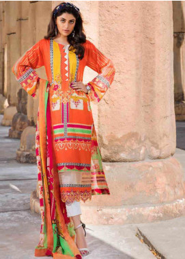 Umang by Motifz Embroidered Lawn Unstitched 3 Piece Suit MT20U 2527 - Summer Collection