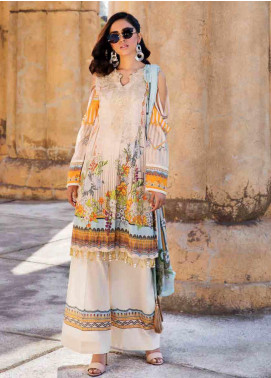 Umang by Motifz Embroidered Lawn Unstitched 3 Piece Suit MT20U 2528 - Summer Collection