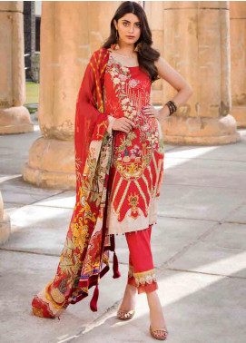 Umang by Motifz Embroidered Lawn Unstitched 3 Piece Suit MT20U 2529 - Summer Collection