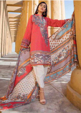 Umang by Motifz Embroidered Lawn Unstitched 3 Piece Suit MT20U 2530 - Summer Collection