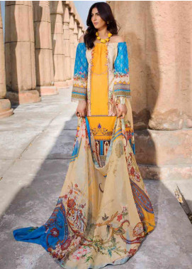 Umang by Motifz Embroidered Lawn Unstitched 3 Piece Suit MT20U 2532 - Summer Collection
