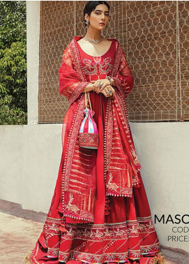 Vaada by Republic Womenswear Embroidered Lawn Unstitched 3 Piece Suit RW20V 01-A MASOORAH - Eid Collection