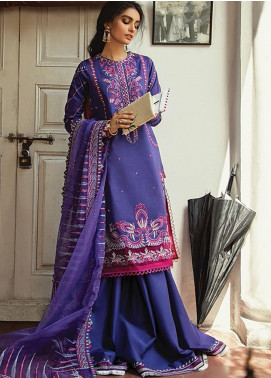 Vaada by Republic Womenswear Embroidered Lawn Unstitched 3 Piece Suit RW20V 01-B MASOORAH - Eid Collection