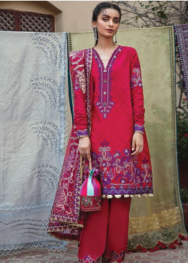Vaada by Republic Womenswear Embroidered Jacquard Unstitched 3 Piece Suit RW20V 03-A ZAREEN - Eid Collection