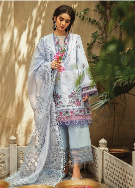 Vaada by Republic Womenswear Embroidered Lawn Unstitched 3 Piece Suit RW20V 05-A ZEBAYISH - Eid Collection