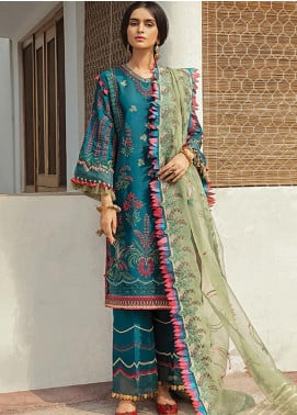 Vaada by Republic Womenswear Embroidered Jacquard Unstitched 3 Piece Suit RW20V 06-A ZEENIYA - Eid Collection