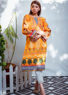 Vasl by Fitoor Printed Cambric Unstitched Kurties FT20VL D-01 - Festive Collection