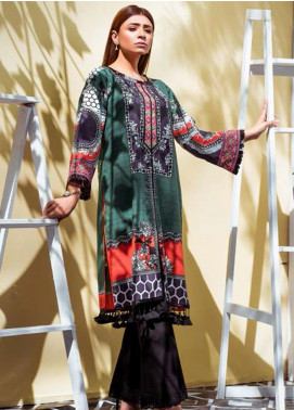 Vasl by Fitoor Printed Cambric Unstitched Kurties FT20VL D-04 - Festive Collection