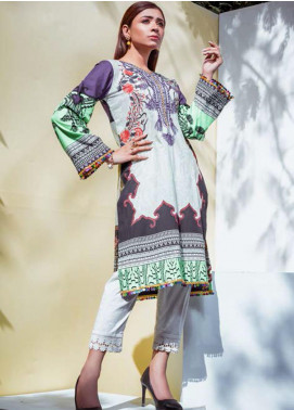 Vasl by Fitoor Printed Cambric Unstitched Kurties FT20VL D-05 - Festive Collection
