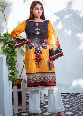 Vasl by Fitoor Printed Cambric Unstitched Kurties FT20VL D-06 - Festive Collection