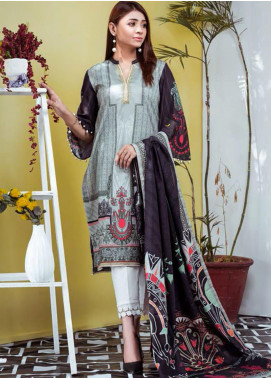 Vasl by Fitoor Printed Cambric Unstitched 3 Piece Suit FT20VL D-07 - Festive Collection
