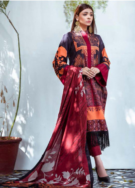 Vasl by Fitoor Printed Cambric Unstitched 3 Piece Suit FT20VL D-08 - Festive Collection