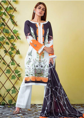 Vasl by Fitoor Printed Cambric Unstitched 3 Piece Suit FT20VL D-09 - Festive Collection
