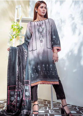 Vasl by Fitoor Printed Cambric Unstitched 3 Piece Suit FT20VL D-10 - Festive Collection