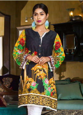 Veena Durrani Printed Lawn Unstitched Kurties VD18K 05 - Summer Collection