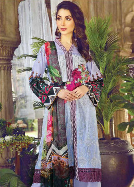 Vesttire Embroidered Lawn Unstitched 3 Piece Suit VS19F-25 AZTEC ALLURE - Festive Collection