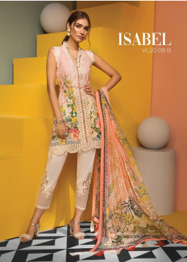Viva by Anaya Embroidered Lawn Unstitched 3 Piece Suit V20AKC 08 B ISABEL - Summer Collection