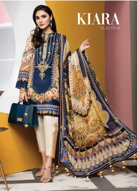 Viva by Anaya Embroidered Lawn Unstitched 3 Piece Suit V20AKC 09 A KIARA - Summer Collection