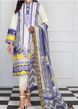 Viva by Anaya Embroidered Cambric Unstitched 2 Piece Suit AKC20IA 06 ZOHARA - Winter Collection