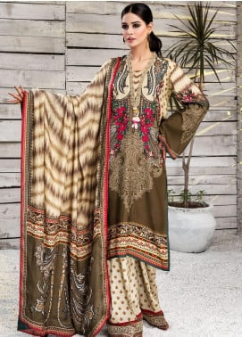 Viva by Anaya Embroidered Linen Unstitched 3 Piece Suit AKC20V 01 Anna - Winter Collection