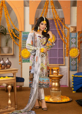 Zohan Textile Embroidered Lawn Unstitched 3 Piece Suit VOG19L 1 - Eid Collection