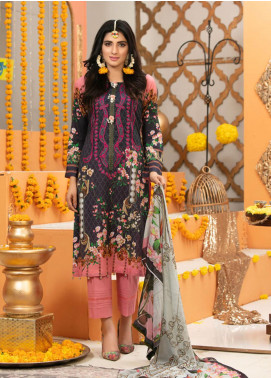 Zohan Textile Embroidered Lawn Unstitched 3 Piece Suit VOG19L 10 - Eid Collection