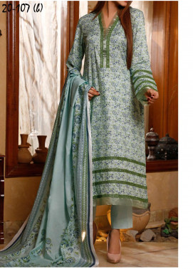 VS Textiles Printed Lawn Unstitched 3 Piece Suit VS20CL 107B - Summer Collection