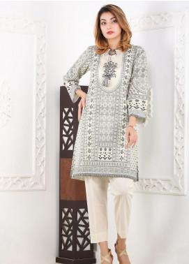 Waniya Printed Lawn Stitched 2 Piece Suit WN20S 04 MONOCHROME CHUNRI