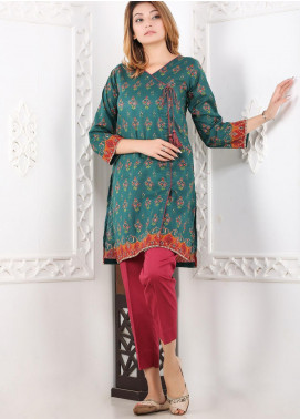 Waniya Printed Lawn Stitched 2 Piece Suit WN20S 06 VIRIDIAN BLOOM