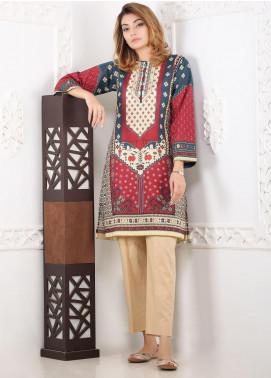 Waniya Printed Lawn Stitched 2 Piece Suit WN20S 01 PERSIAN GEOMETRICS