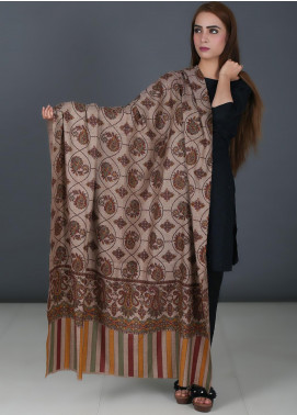 Sanaulla Exclusive Range  Acrylic  Shawl 729 - Winter Collection