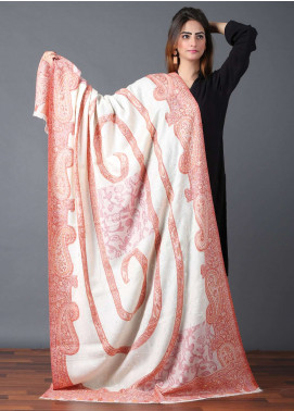 Sanaulla Exclusive Range  Jamawar Weaved Shawl 586 - Winter Collection