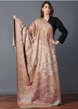 Sanaulla Exclusive Range  Jamawar Weaved Shawl 593 - Winter Collection