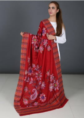 Sanaulla Exclusive Range Pure Jamawar Pashmina Shawl 721 - Winter Collection