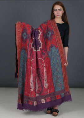 Sanaulla Exclusive Range Pure Jamawar Pashmina Shawl 722 - Winter Collection