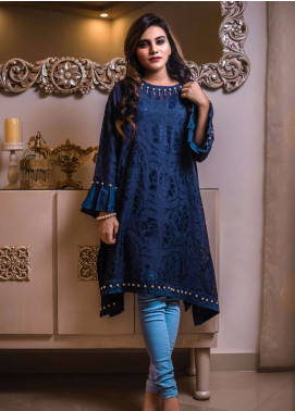 Laali Embroidered Lawn Stitched Kurtis Lal-022