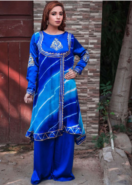 Laali Embroidered Chiffon Stitched 2 Piece Suit Lal-028