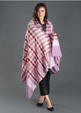 Sanaulla Exclusive Range Embroidered Pashmina  Shawl 125 - Kashmiri Shawls
