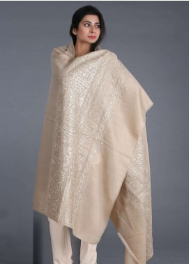 Sanaulla Exclusive Range Embroidered Acrylic Shawl 209