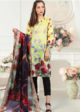 Waniya Embroidered Lawn Stitched 2 Piece Suit LEP-019