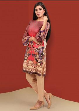 Waniya Printed Stitched Kurtis PK-034 RED
