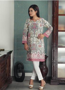Waniya Printed Cotton Stitched Kurtis PK-162 FLORAL GREEN