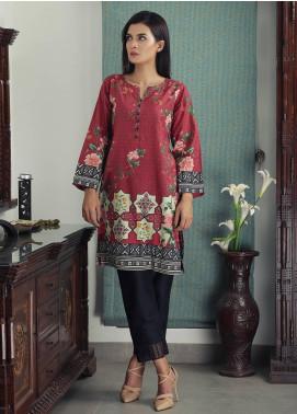 Waniya Printed Cotton Stitched Kurtis PK-166 BERRY BLOSSOM