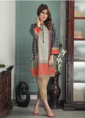 Waniya Printed Cotton Stitched Kurtis PK-170 AUTUMN BLISS