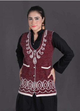 Sanaulla Exclusive Range Textured Woollen Free Size Sweaters SA18S 16 - Winter Collection