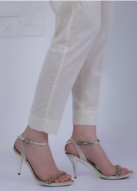 Waniya Plain Lawn Stitched Trousers TP20-02