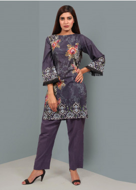 Waniya Printed Stitched Kurtis PK-035 BLUE